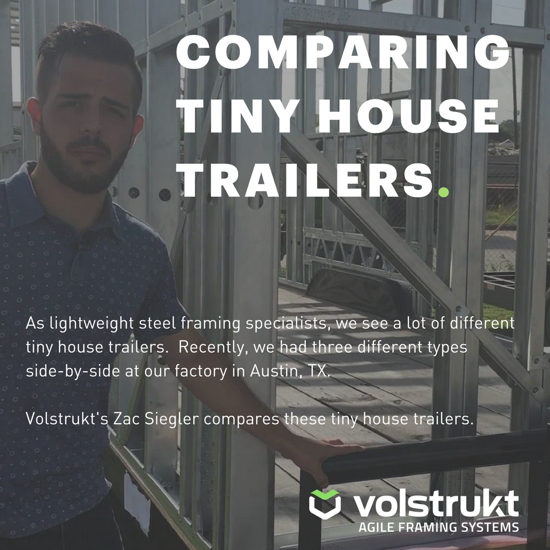 Comparing Tiny House Trailers